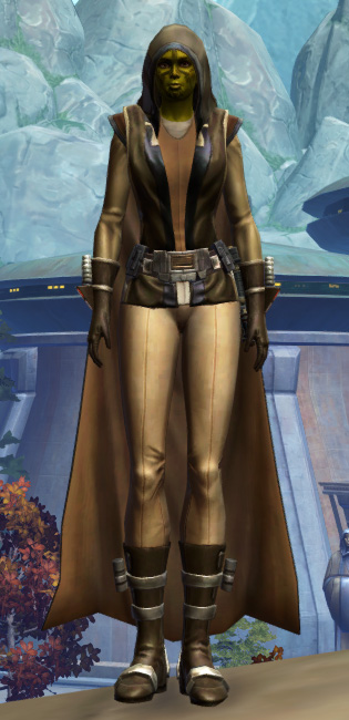 Ablative Laminoid Armor Set Outfit from Star Wars: The Old Republic.