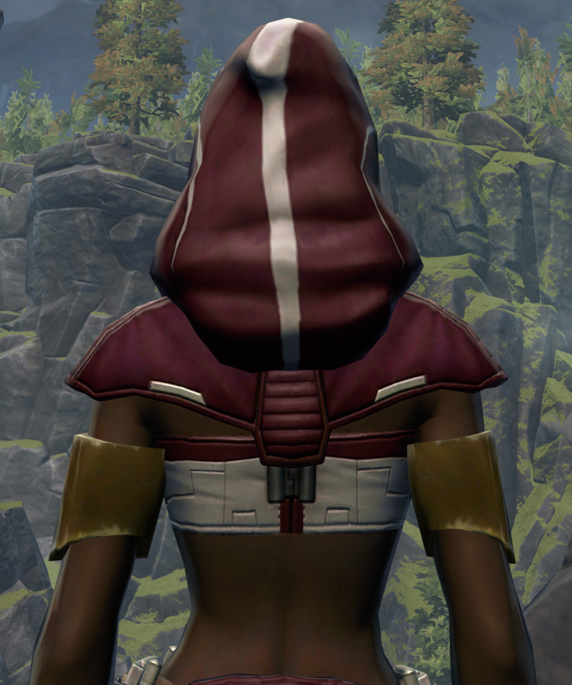 Able Hunter Armor Set detailed back view from Star Wars: The Old Republic.