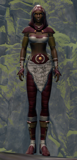 Able Hunter Armor Set Outfit from Star Wars: The Old Republic.