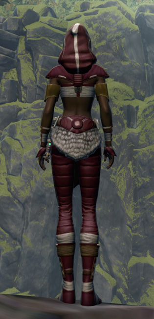 Able Hunter Armor Set player-view from Star Wars: The Old Republic.