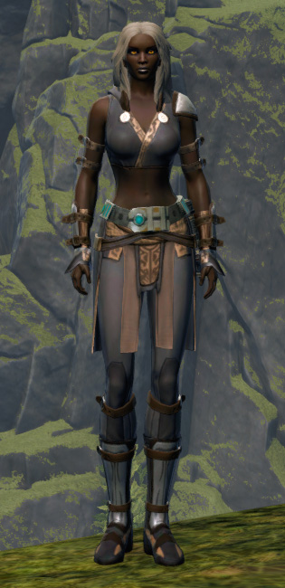 Ambitious Warrior Armor Set Outfit from Star Wars: The Old Republic.