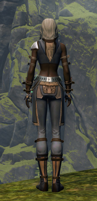 Ambitious Warrior Armor Set player-view from Star Wars: The Old Republic.