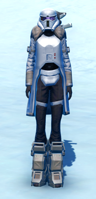 Arctic Trooper Armor Set Outfit from Star Wars: The Old Republic.