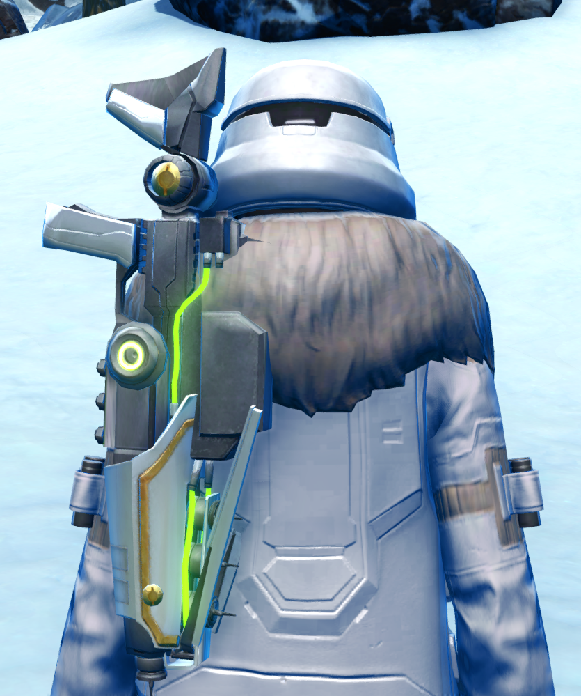 Arctic Trooper Armor Set detailed back view from Star Wars: The Old Republic.