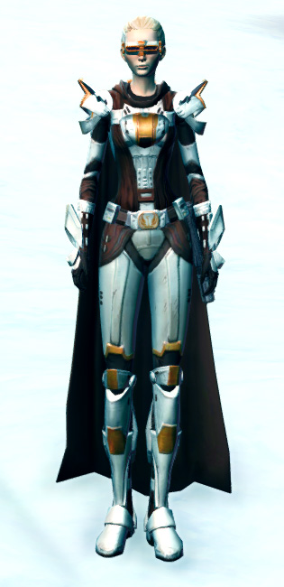 Ardent Warden Armor Set Outfit from Star Wars: The Old Republic.