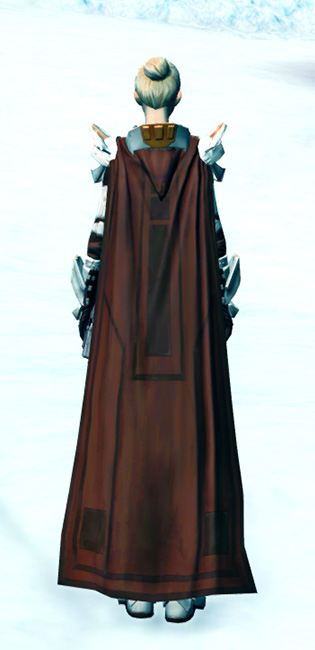 Ardent Warden Armor Set player-view from Star Wars: The Old Republic.