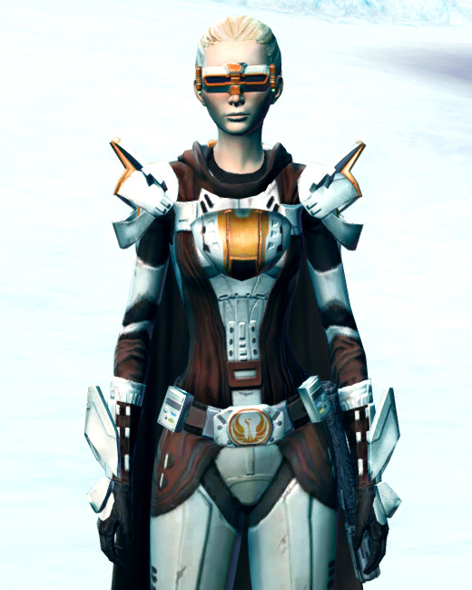 Ardent Warden Armor Set Preview from Star Wars: The Old Republic.