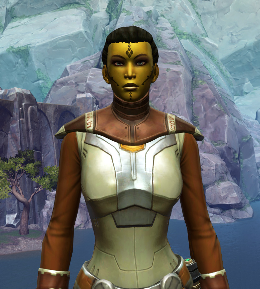 Armored Diplomat Armor Set from Star Wars: The Old Republic.