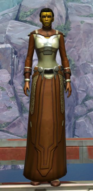 Armored Diplomat Armor Set Outfit from Star Wars: The Old Republic.