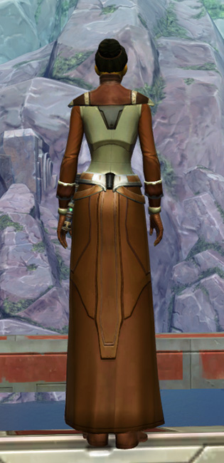 Armored Diplomat Armor Set player-view from Star Wars: The Old Republic.