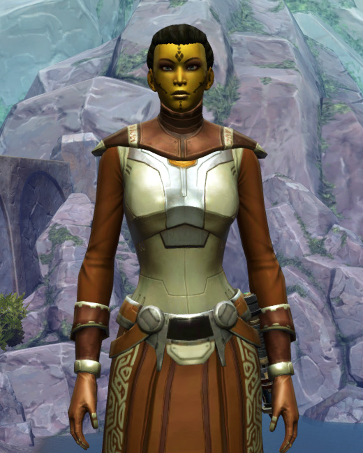 Armored Diplomat Armor Set Preview from Star Wars: The Old Republic.