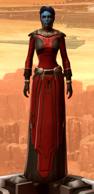 Armored Interrogator Armor Set Outfit from Star Wars: The Old Republic.