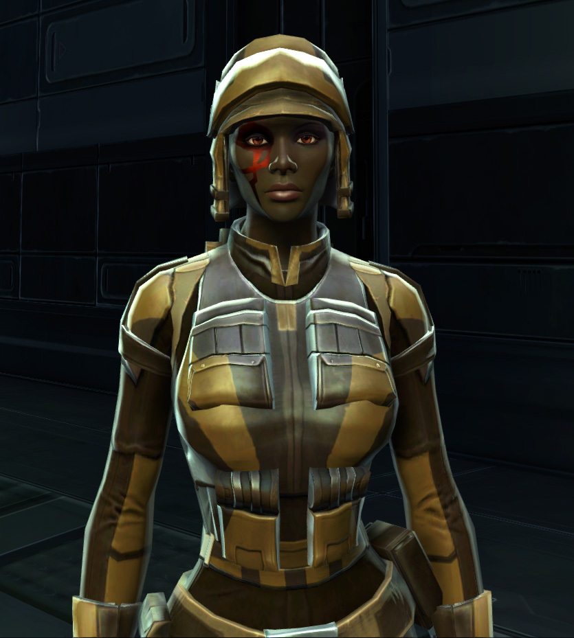 Badlands Explorer Armor Set from Star Wars: The Old Republic.