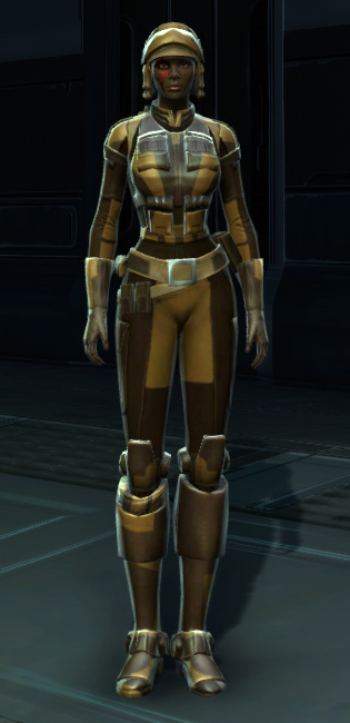 Badlands Explorer Armor Set Outfit from Star Wars: The Old Republic.