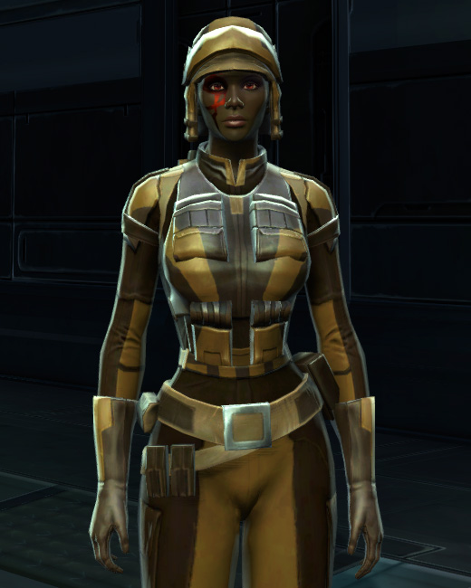 Badlands Explorer Armor Set Preview from Star Wars: The Old Republic.