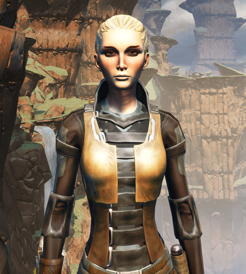 Balmorran Resistance Armor Set from Star Wars: The Old Republic.