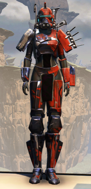 Battlemaster Supercommando Armor Set Outfit from Star Wars: The Old Republic.