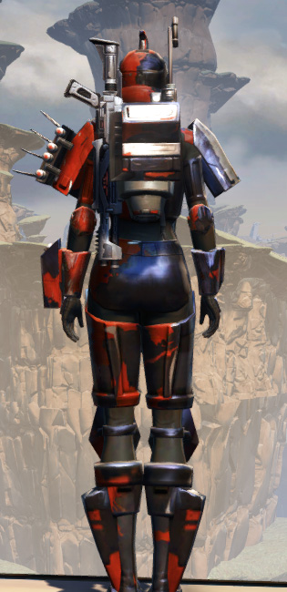 Battlemaster Supercommando Armor Set player-view from Star Wars: The Old Republic.