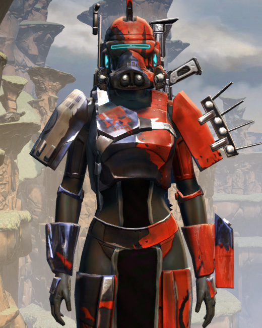 Battlemaster Supercommando Armor Set Preview from Star Wars: The Old Republic.