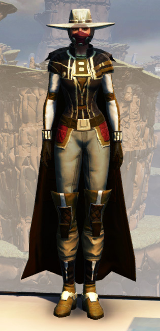 Battlemaster Enforcer Armor Set Outfit from Star Wars: The Old Republic.