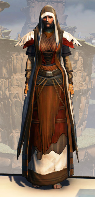 Battlemaster Force-Master Armor Set Outfit from Star Wars: The Old Republic.