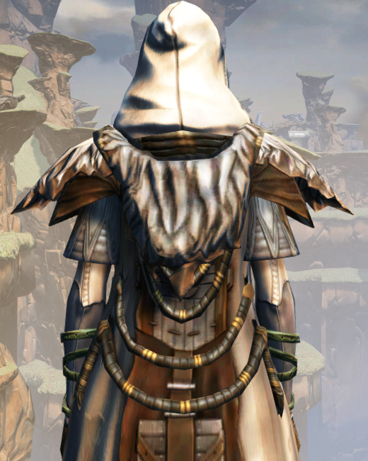 Battlemaster Stalker Armor Set Back from Star Wars: The Old Republic.