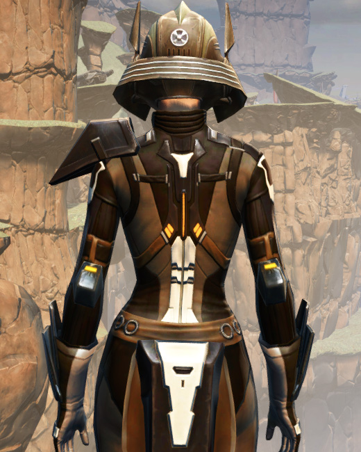 Battlemaster Vindicator Armor Set Back from Star Wars: The Old Republic.