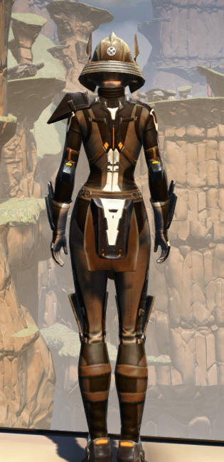 Battlemaster Vindicator Armor Set player-view from Star Wars: The Old Republic.