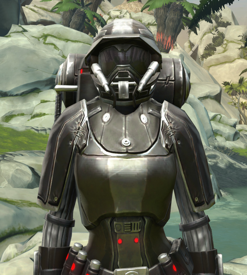 BK-0 Combustion Armor Armor Set from Star Wars: The Old Republic.