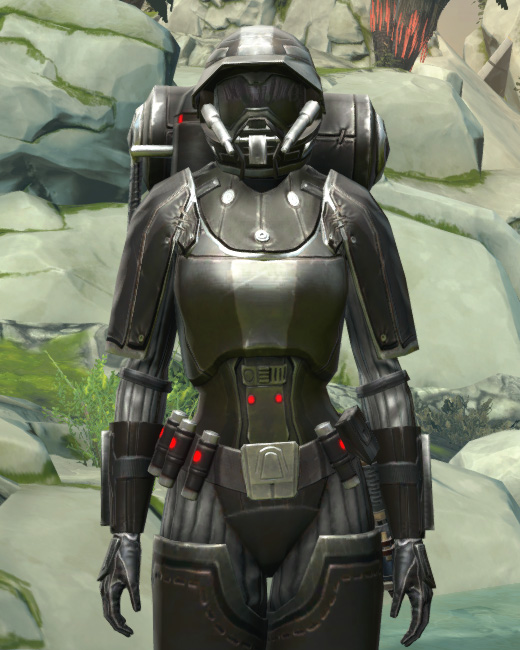 BK-0 Combustion Armor Armor Set Preview from Star Wars: The Old Republic.