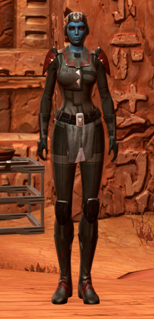 Blade Tyrant Armor Set Outfit from Star Wars: The Old Republic.