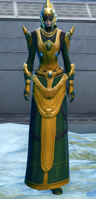 Ceremonial Guard Armor Set Outfit from Star Wars: The Old Republic.