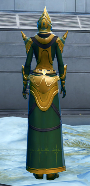 Ceremonial Guard Armor Set player-view from Star Wars: The Old Republic.