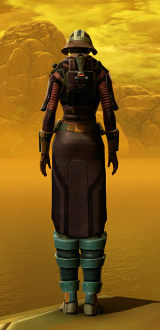 Chanlon Onslaught Armor Set player-view from Star Wars: The Old Republic.