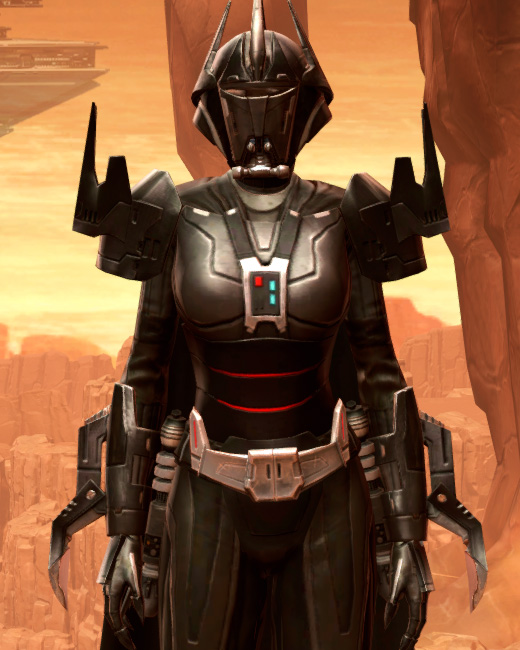 Charged Hypercloth Aegis Armor Set Preview from Star Wars: The Old Republic.