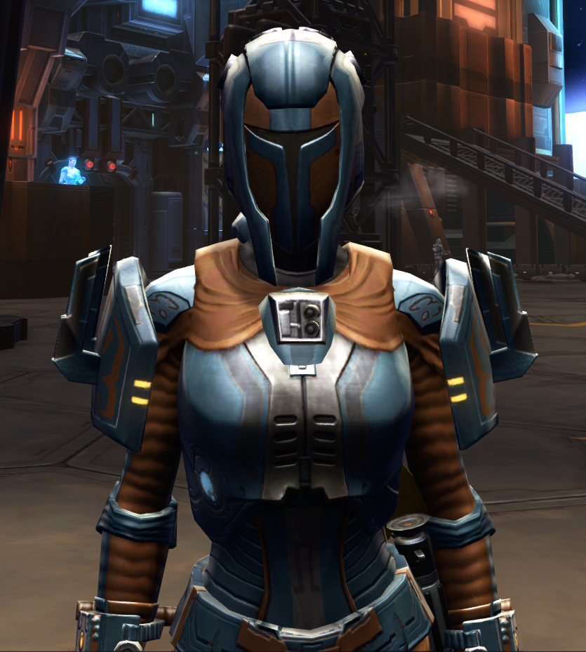 Citadel Boltblaster Armor Set from Star Wars: The Old Republic.