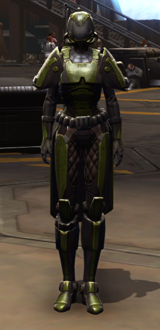 Citadel Boltblaster Armor Set Outfit from Star Wars: The Old Republic.