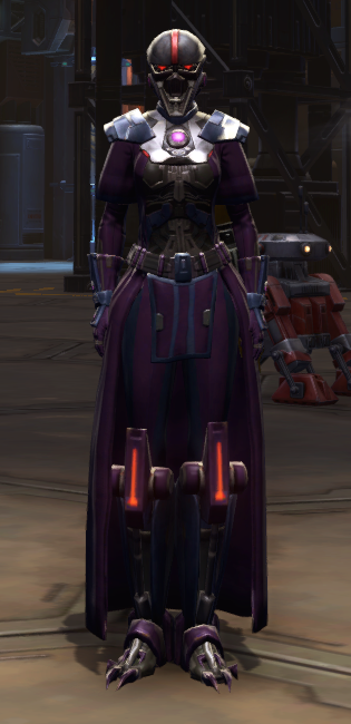 Citadel Bulwark Armor Set Outfit from Star Wars: The Old Republic.