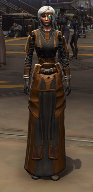 Citadel Force-lord Armor Set Outfit from Star Wars: The Old Republic.