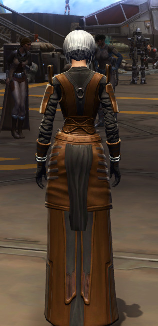 Citadel Force-lord Armor Set player-view from Star Wars: The Old Republic.