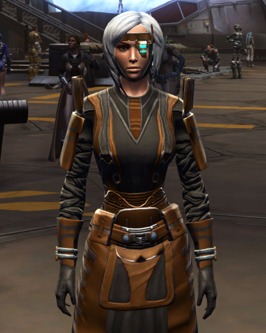 Citadel Force-lord Armor Set Preview from Star Wars: The Old Republic.