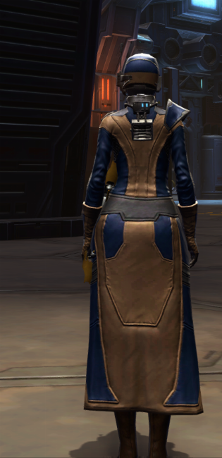 Citadel Mender Armor Set player-view from Star Wars: The Old Republic.