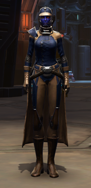 Citadel Mender Armor Set Outfit from Star Wars: The Old Republic.