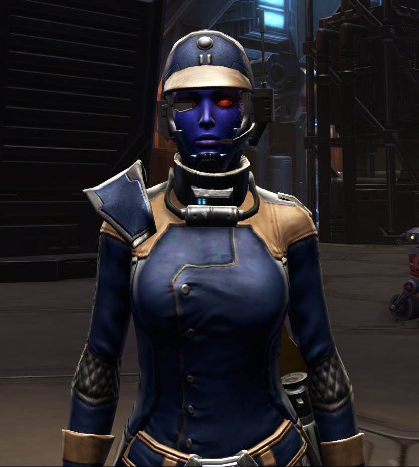 Citadel Mender Armor Set from Star Wars: The Old Republic.