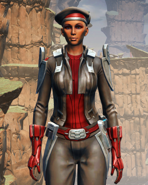 Confiscated Mercenary Armor Set Preview from Star Wars: The Old Republic.
