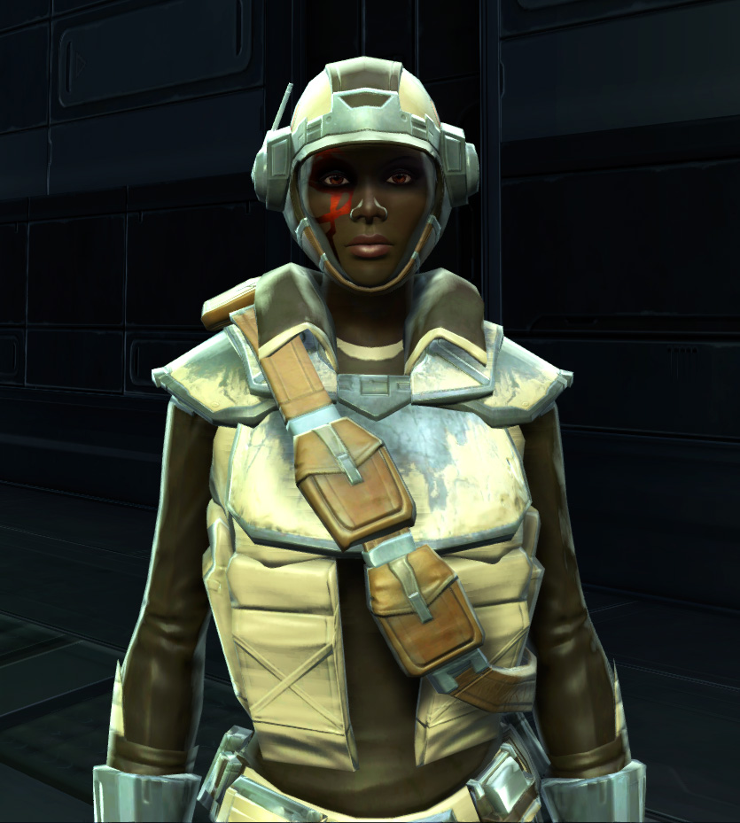 Contraband Runner Armor Set from Star Wars: The Old Republic.