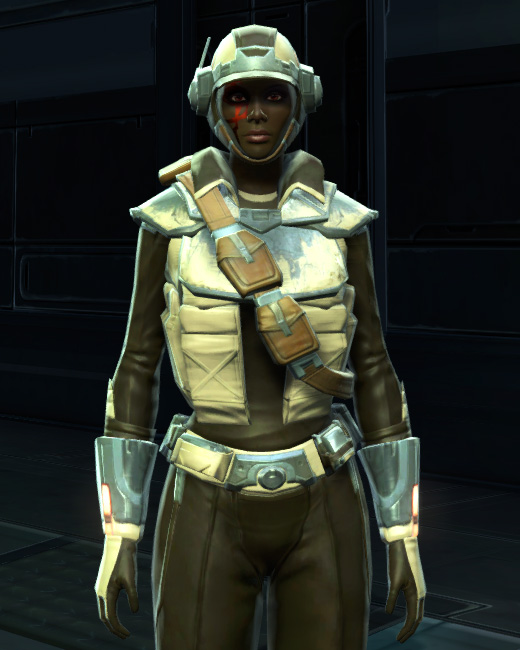 Contraband Runner Armor Set Preview from Star Wars: The Old Republic.