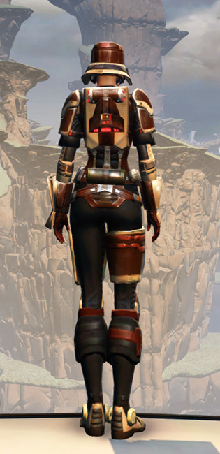 Contract Hunter Armor Set player-view from Star Wars: The Old Republic.