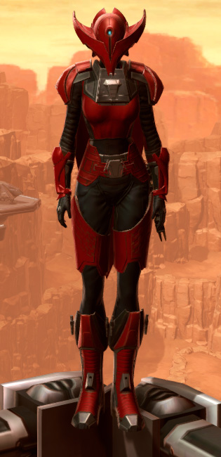 Crimson Talon Armor Set Outfit from Star Wars: The Old Republic.