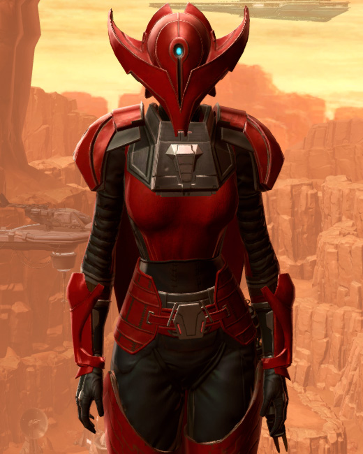 Crimson Talon Armor Set Preview from Star Wars: The Old Republic.
